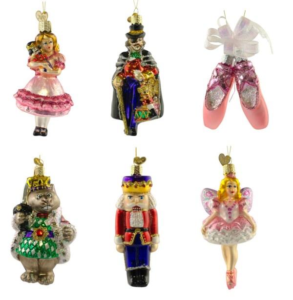 Nutcracker Ballet Ornament Set