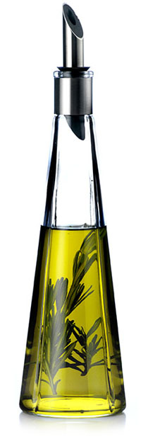glass kitchen table and chairs mobile home cabinets discount olive oil vinegar cruet bottle with no-drip pourer ...