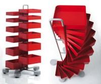 Office Furniture: Spinny Organizer Storage Cabinet Drawers ...