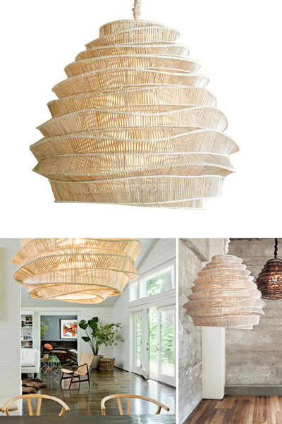 Large Classic Sculptural Cloud Like Decorative Lamp