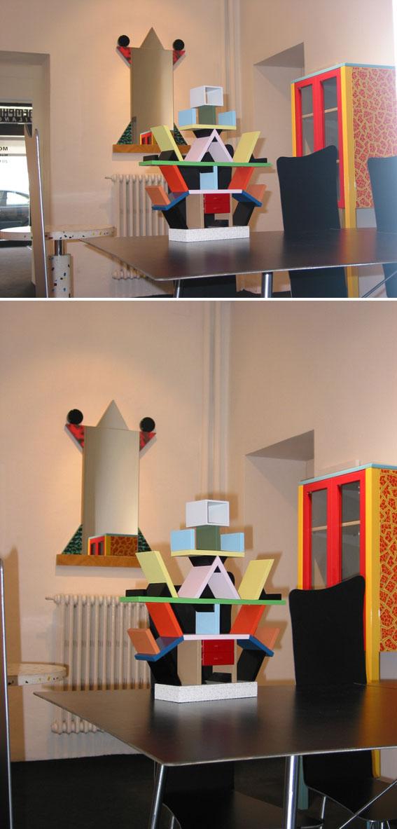 Ettore Sottsass Carlton Miniature Memphis Design NOVA68com