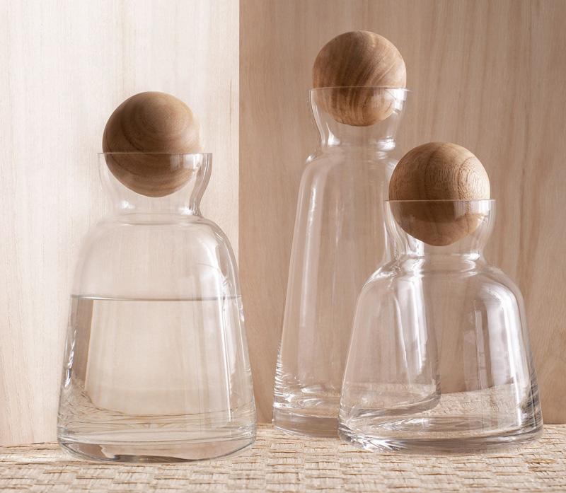 Scandia Modernist Design 7592511inch Glass Water