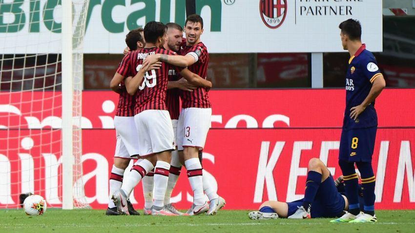 Prediksi Bola AC Milan VS AS Roma - Nova88 Sports