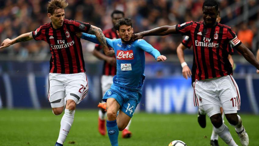 Prediksi Bola Napoli VS AC Milan - Nova88 Sports