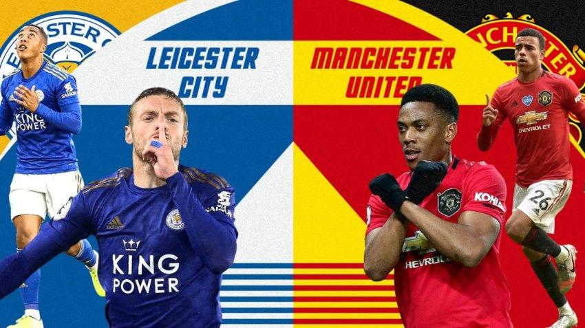 Prediksi Bola Leicester City VS Manchester United - Nova88 Sports