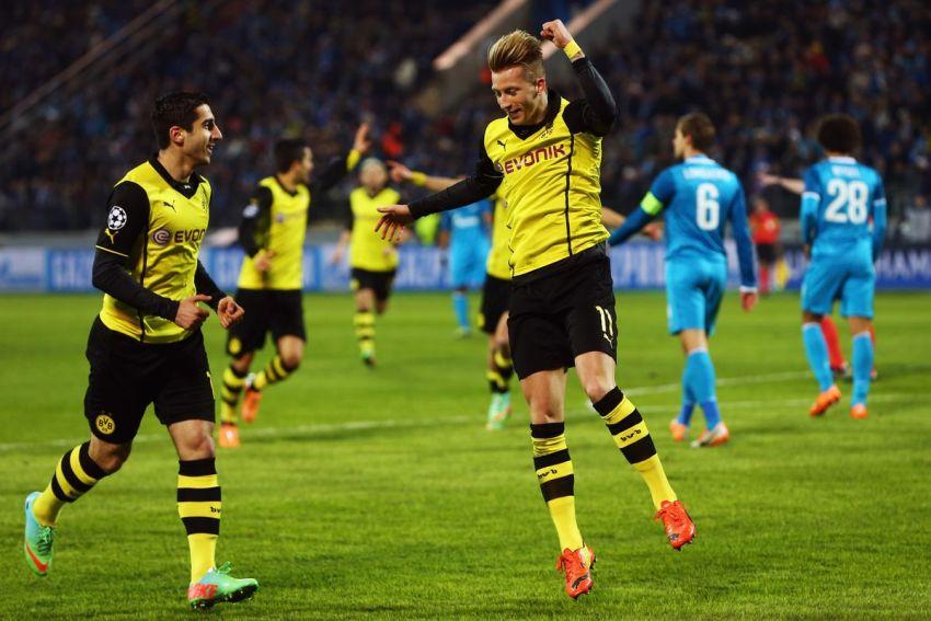 Prediksi Bola Zenit St. Petersburg VS Borussia Dortmund - Nova88 Sports