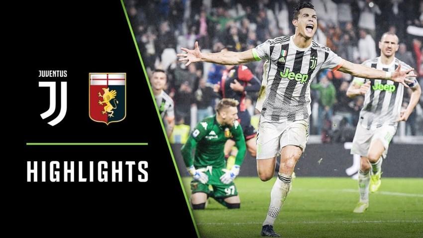 Prediksi Bola Juventus VS Genoa - Nova88 Sports