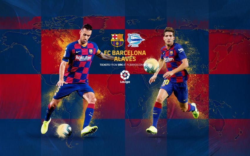 Prediksi Bola FC Barcelona VS Alaves - Nova88 Sports