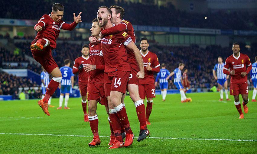 Prediksi Bola Liverpool VS Brighton Hove Albion - Nova88 Sports