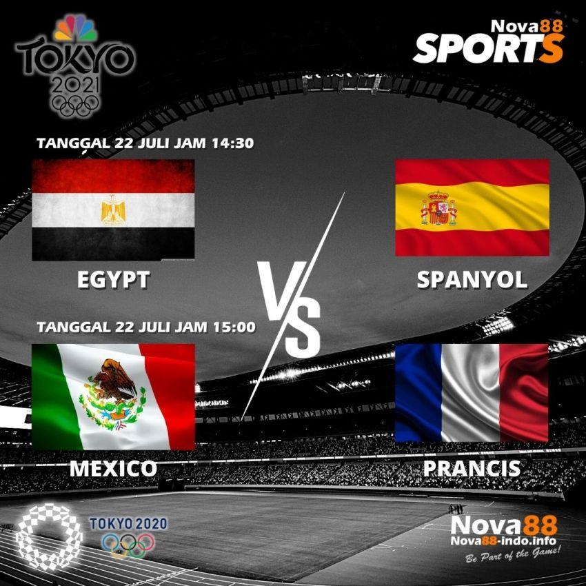 Jadwal Olimpiade Tokyo 2020 Tanggal 22 Juli 2021 - Nova88 Sports