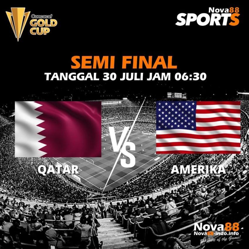 Prediksi Bola Semi Final Concacaf Gold Cup Qatar vs Amerika - Nova88 Sports