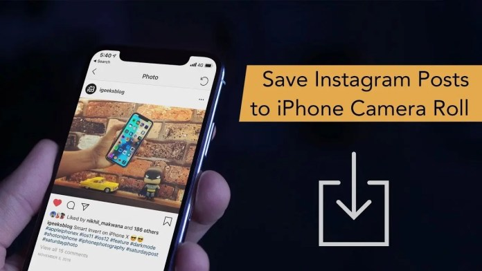 How to Save Instagram Photos and Videos to iPhone Camera Roll