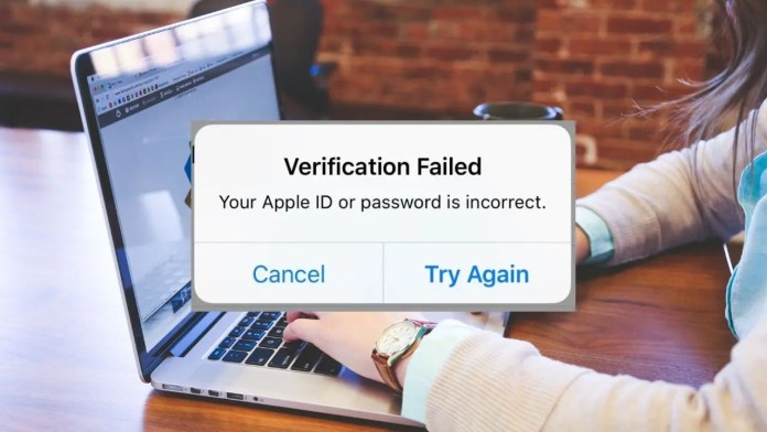 How To Fix Apple ID Verification Failed Unknown Error