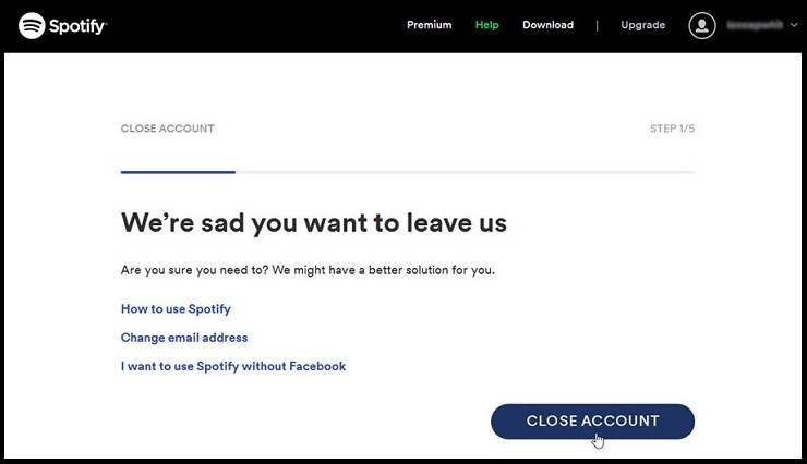 How To Easily Delete Your Spotify Account