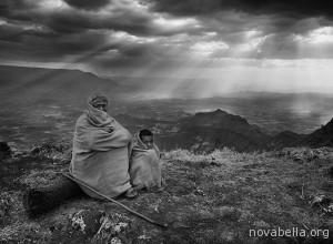 Valley that stretches from Lalibela to Makina Lideta Maryan, Ethiopia, 2008