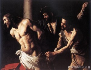 1a Christ_at_the_Column_-_Caravaggio_-_1607