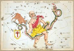 Sidney_Hall_-_Urania's_Mirror_-_Taurus_Poniatowski,_Serpentarius,_Scutum_Sobiesky,_and_Serpens 1