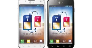 LG Optimus L7 Çift Sim Kartlı