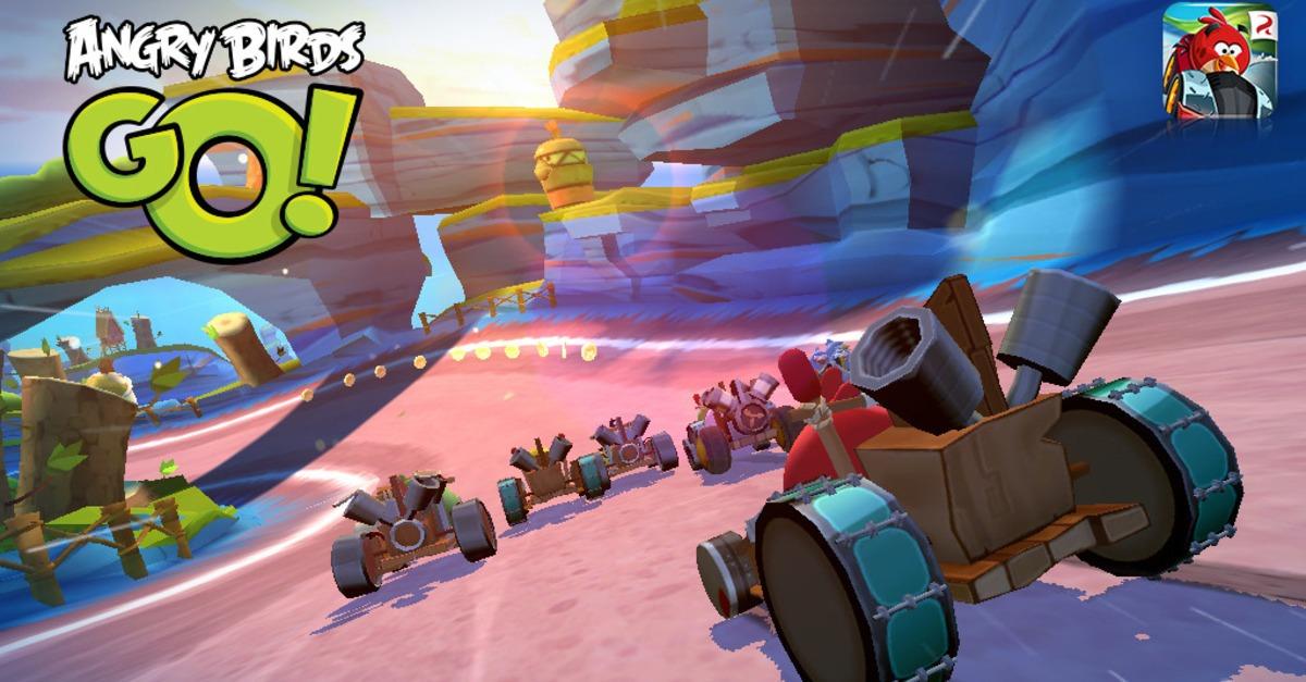 Angry Birds Go'nun Oynanış Videosu Yayınlandı