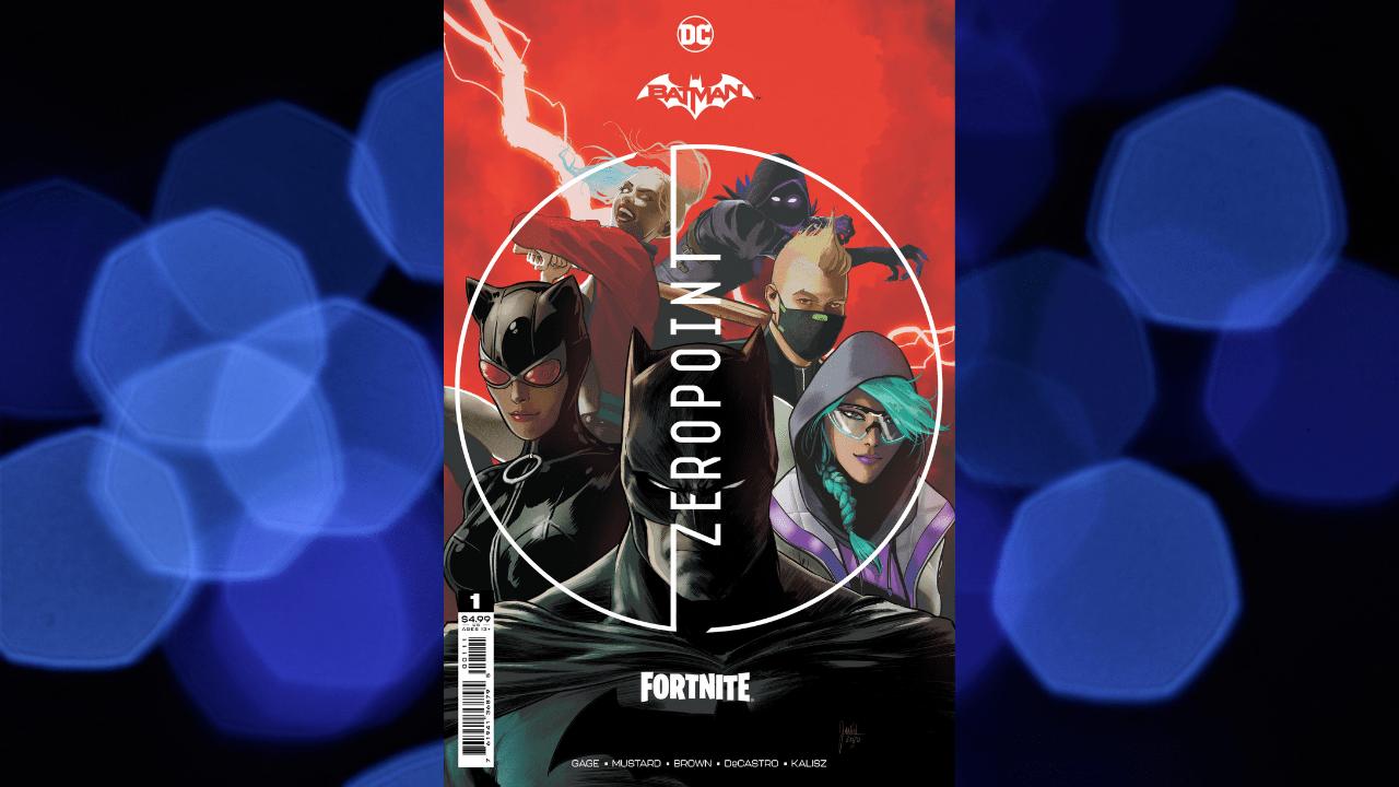Batman/ Fortnite Punto Zero Copertina Fumetto