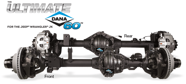 Dana Ultimate 60 Axels for JK Jeeps
