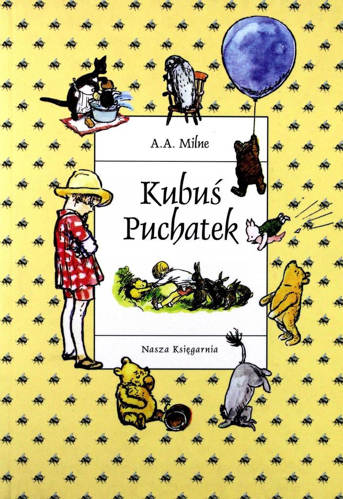 najciekawsze książki dla dzieci - Kubuś Puchatek