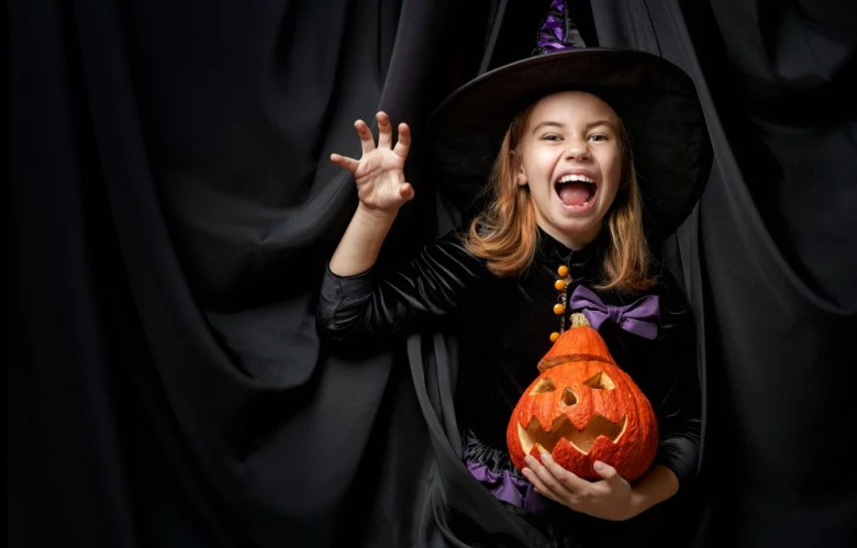 Kostium na Halloween wiedźmy