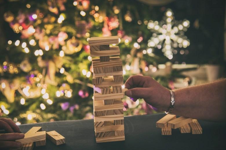 gry planszowe na święta - jenga
