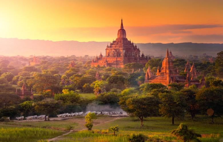 pagoda w Birmie