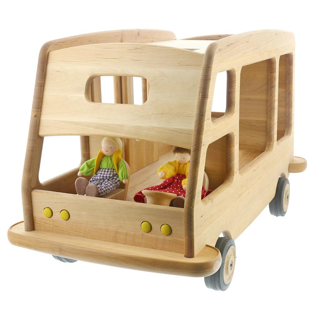 Ride On Wooden Toy Caravan Nova Natural Toys Crafts