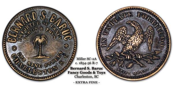 Miller SC-2A Chibbaro SC-1305-F Bernard S. Baruc Charleston South Carolina SC