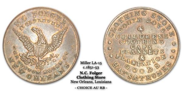Miller LA-15 N.C. Folger