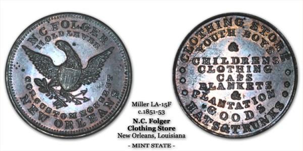Miller LA-15F N.C. Folger