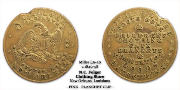 Miller LA-20 N.C. Folger