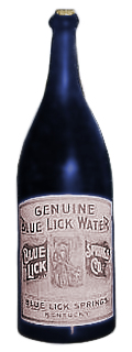 Genuine Blue Lick Water