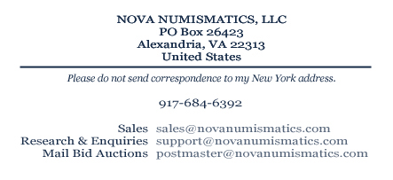 Please do not send orders or correspondence to my New York address.