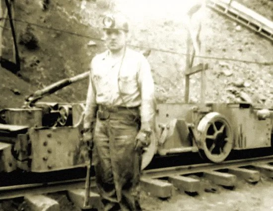 Miner at the Panther Coal Company