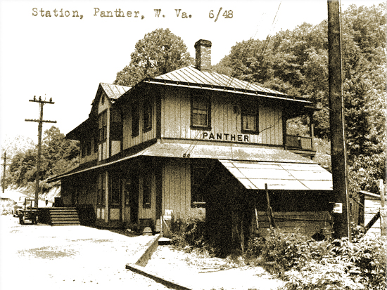 Panther Coal Company Railroad Depot Station