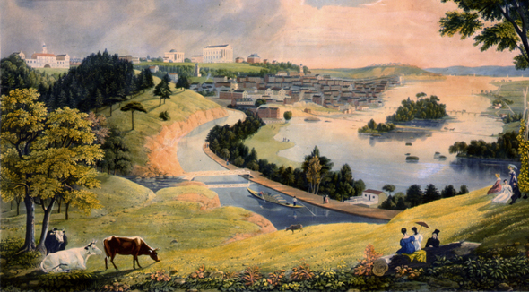 Richmond Virginia in the 1830s
