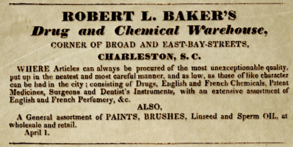 Robert L. Baker's Warehouse Drug & Chemical Warehouse