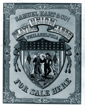 Samuel Hart and Co Union Playing Cards Philadelphia For Sale Here