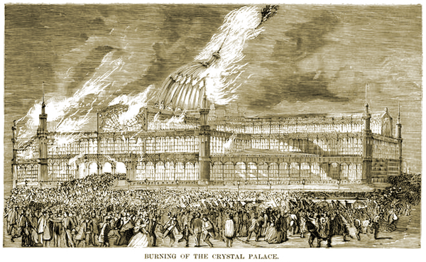 Burning of the Crystal Palace