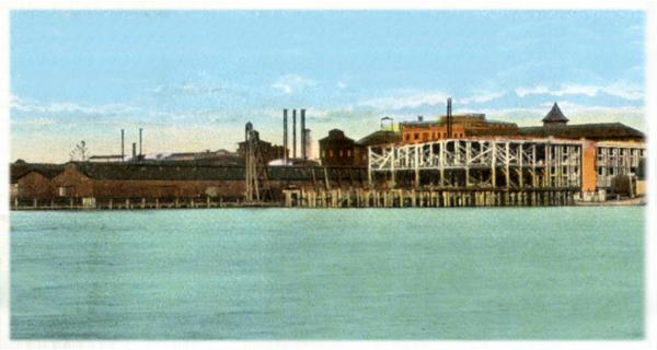 Champion Compress & Warehouse Company Wharfs Wilmington NC