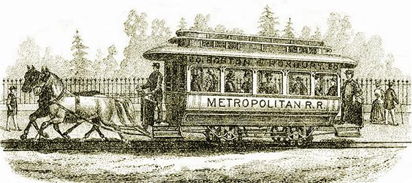 Metropolitan Horse Railroad Company - Boston & Roxbury Line