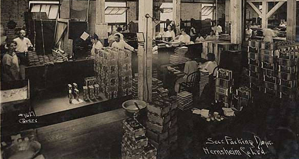 S. Hernsheim Brothers & Co Tobacco - Tobacco Packing Department