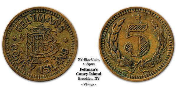 Feltman token 5-cents