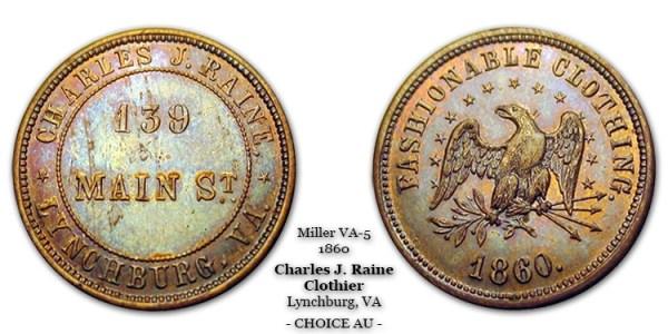 Miller VA-5 Charles J. Raine Lynchburg