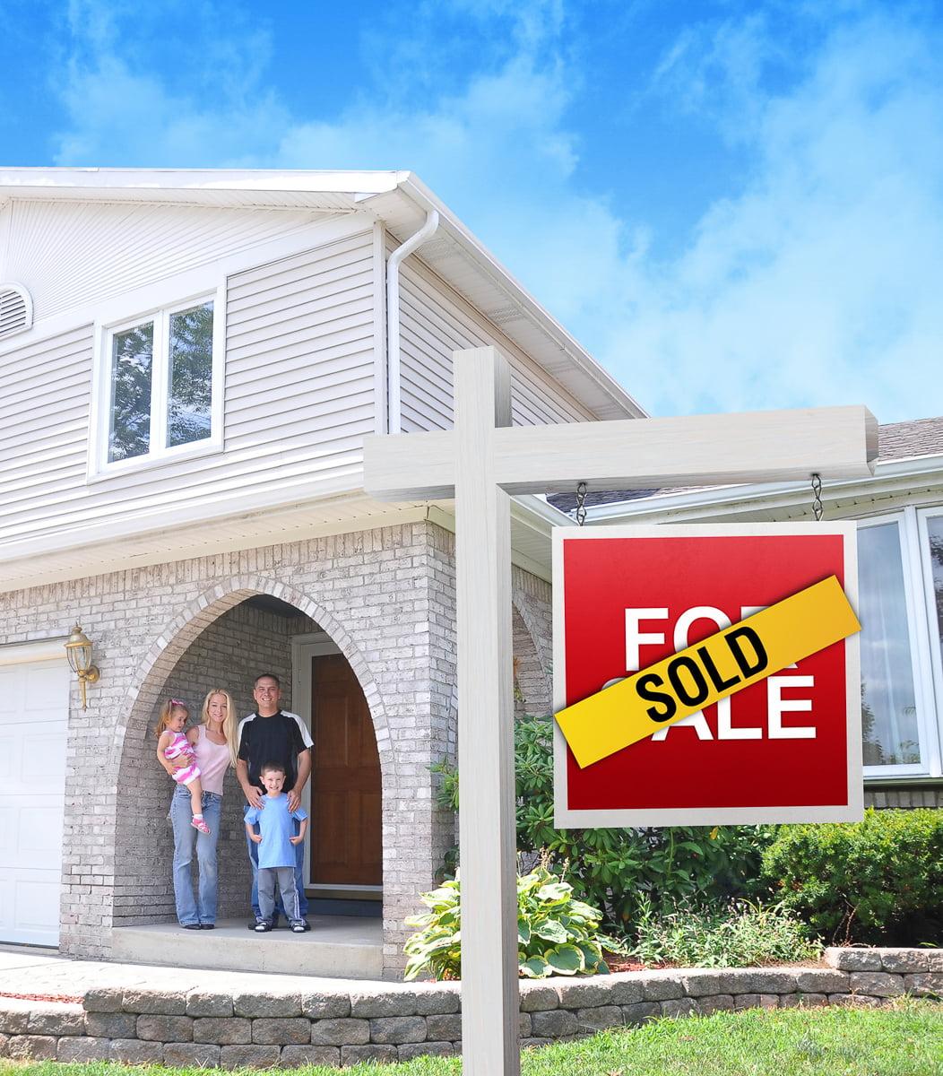 Sold real estate listing