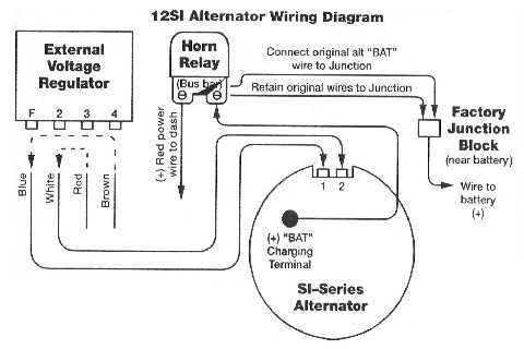 delco cs alternator wiring diagram 3 way switch multiple lights novaresource - si to conversion
