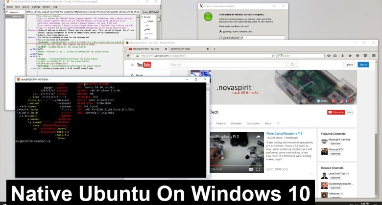 ubuntu for windows 10